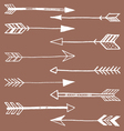 Tribal Arrows Doodle vector image