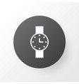 watch icon symbol premium quality isolated timer vector image