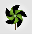 a pinwheel toy vector image vector image