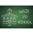 Education back to school house vector image vector image