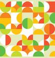 geometric 60s and 70s seamless pattern