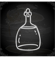 Hand Drawn Glass Bottle vector image vector image