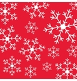 Merry christmas snowflake vector image