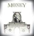 Money One Dollar vector image vector image