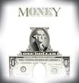 Money One Dollar vector image vector image