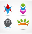 new business icon and symbol vector image vector image