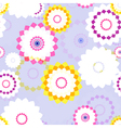 Spring Aster Flowers vector image vector image