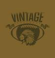 vintage sports vector image vector image