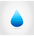 Water drop vector image vector image