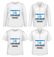 White shirts vector image vector image
