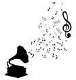 music gr vector image