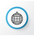 disco ball icon symbol premium quality isolated vector image