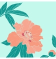 hand drawn ornate flower vector image