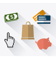 Online payments design vector image vector image