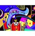 original abstract digital contemporary art vibrant