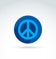 Peace icon conceptual special icon for your design vector image vector image