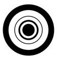 radio signal symbol connect icon black color in vector image vector image
