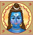 Shiva Icon vector image vector image