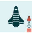 Shuttle icon isolated vector image vector image