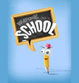 3d cartoon welcome back to school funny