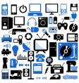 Electronic icons set vector image
