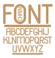 English alphabet letters collection capital