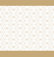 golden lines pattern subtle gold and white mesh vector image vector image