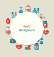 Health Background vector image