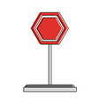 road sign symbol vector image