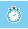 sport timer clock vector image vector image