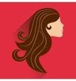 beautyfull woman design vector image
