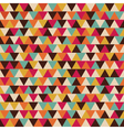 306retro triangle seamless patternVS vector image
