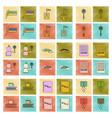 assembly flat shading style icon ukrainian school vector image vector image