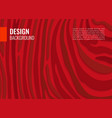 bright red horizontal abstract background light vector image vector image
