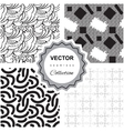 Dot seamless pattern vector image