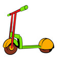 kick scooter icon icon cartoon vector image vector image