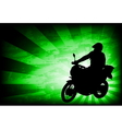 motorcyclist background 4 vector image vector image