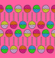 pattern of candys vector image