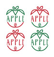 Set template icon apples