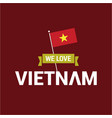 vietnam independence day design vector image