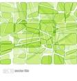 abstract glass mosaic green vector image vector image