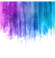 Blue Violet Paint Splashes Gradient Background vector image vector image