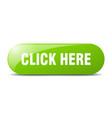 click here button click here sign key push button vector image vector image