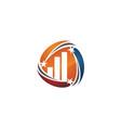 success business logo design template vector image vector image