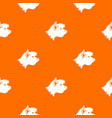 terrier dog pattern seamless vector image