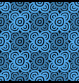 background - dark blue and black vector image vector image