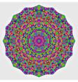 Colorful Circle Kaleidoscope Backdrop vector image