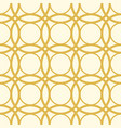 seamless white and yellow pattern vector image