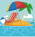 summer and vacation vector image vector image