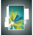 Website Design Template vector image vector image